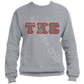 Tau Kappa Epsilon Grey Crewneck2 - Adgreek