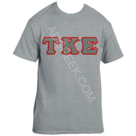 Tau Kappa Epsilon Grey Tshirt1 - Adgreek