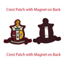 KAY_Crest Patch with Magnet on back - Adgreek