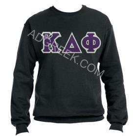 Alpha Kappa Delta Phi Black Crewneck1 - Adgreek