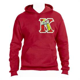 KAY- Hoodie Sweat002(Red) - Adgreek