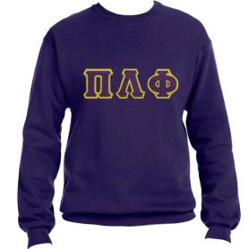 Pi Lambda Phi Purple Crewneck1 - Adgreek