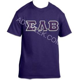 Sigma Lambda Beta Purple Tshirt1 - Adgreek