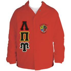 Lambda Pi Upsilon Red Line Jacket1 - Adgreek
