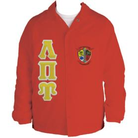 Lambda Pi Upsilon Red Line Jacket2 - Adgreek