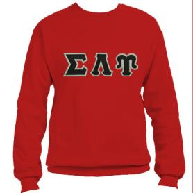 Sigma Lambda Upsilon Red Crewneck1 - Adgreek