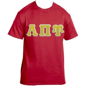 Lambda Pi Upsilon Red Tshirt2 - Adgreek