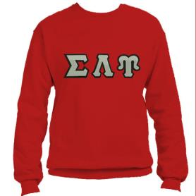Sigma Lambda Upsilon Red Crewneck2 - Adgreek