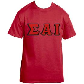Sigma Alpha Iota Red Tshirt1 - Adgreek