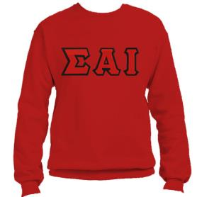 Sigma Alpha Iota Red Crewneck1 - Adgreek