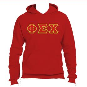 Phi Sigma Chi Red Hoodie1 - Adgreek