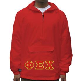 Phi Sigma Chi Red Pullover1 - Adgreek