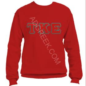 Tau Kappa Epsilon Red Crewneck2 - Adgreek