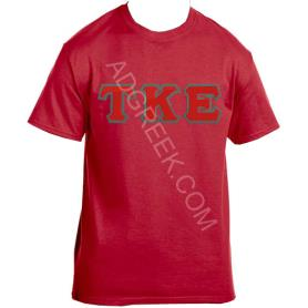 Tau Kappa Epsilon Red Tshirt - Adgreek
