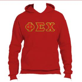 Phi Sigma Chi Red Hoodie2 - Adgreek