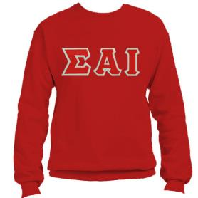 Sigma Alpha Iota Red Crewneck2 - Adgreek