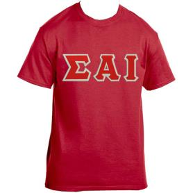 Sigma Alpha Iota Red Tshirt2 - Adgreek