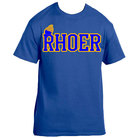 Rhoer T Shirt(Royal) - Adgreek