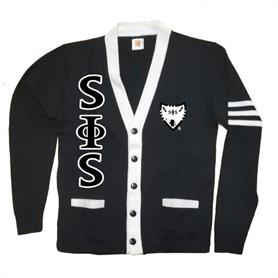 Swing Phi Swing Varsity Cardigan - Adgreek