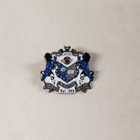 Sigma Sigma Rho Metal Crest Pin - Adgreek