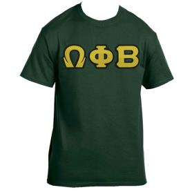 Omega Phi Beta Forest Green Tshirt2 - Adgreek