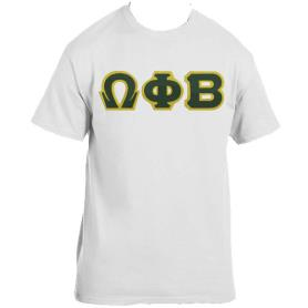 Omega Phi Beta White Tshirt1 - Adgreek