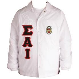 Sigma Alpha Iota White Line Jacket1 - Adgreek