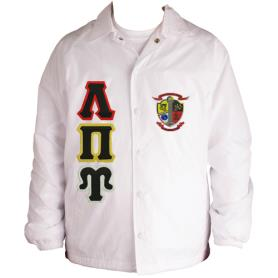 Lambda Pi Upsilon White Line Jacket1 - Adgreek