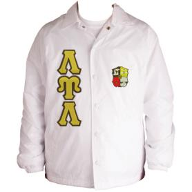 Lambda Upsilon Lambda White Line Jacket3 - Adgreek