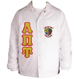 Lambda Pi Upsilon White Line Jacket2 - Adgreek
