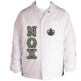 Nu Omega Chi White Line Jacket3 - Adgreek
