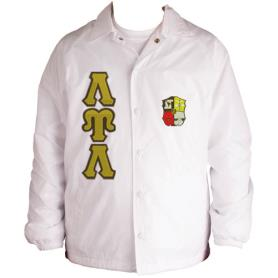 Lambda Upsilon Lambda White Line Jacket4 - Adgreek