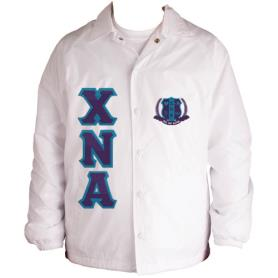 Chi Nu Alpha white Line Jacket7 - Adgreek
