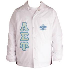 Lambda Sigma Upsilon White Line Jacket5 - Adgreek