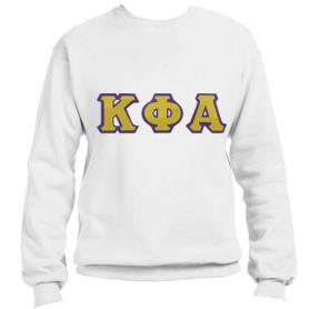 Kappa Phi Alpha White Crewneck1 - Adgreek