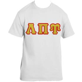 Lambda Pi Upsilon White Tshirt1 - Adgreek