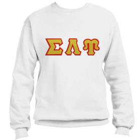 Sigma Lambda Upsilon White Crewneck2 - Adgreek
