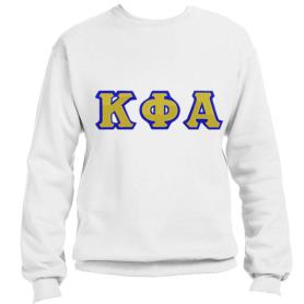 Kappa Phi Alpha White Crewneck2 - Adgreek