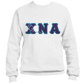Chi Nu Alpha White Crewneck4 - Adgreek