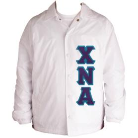 Chi Nu Alpha white Line Jacket9 - Adgreek