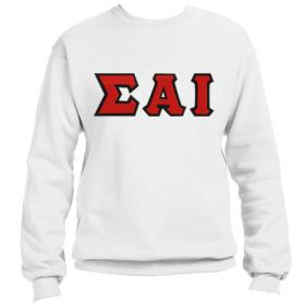 Sigma Alpha Iota White Crewneck2 - Adgreek