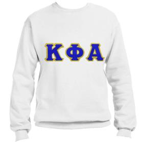 Kappa Phi Alpha White Crewneck4 - Adgreek