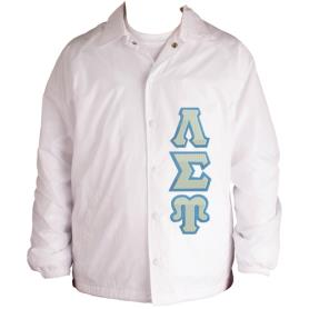 Lambda Sigma Upsilon White Line Jacket6 - Adgreek