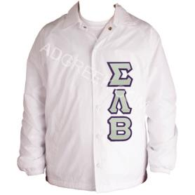 Sigma Lambda Beta White Line Jacket2 - Adgreek