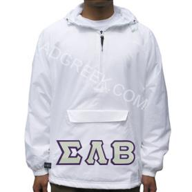 Sigma Lambda Beta White Pullover1 - Adgreek