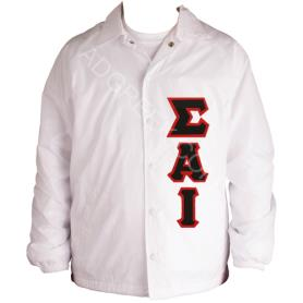 Sigma Alpha Iota White Line Jacket3 - Adgreek