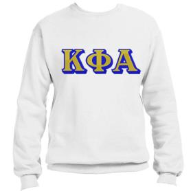 Kappa Phi Alpha White Crewneck5 - Adgreek