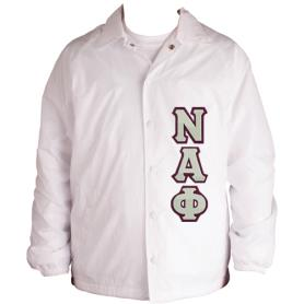 Nu Alpha Phi White Jacket2 - Adgreek