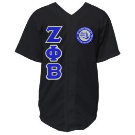 Zeta Phi Beta Mesh Black Baseball Jersey4 - Adgreek