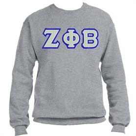 ZFB Crewneck Sweat Top(Grey 007) - Adgreek